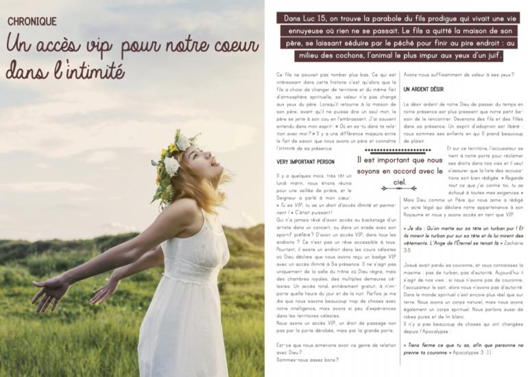 Lancement du magazine Connectés